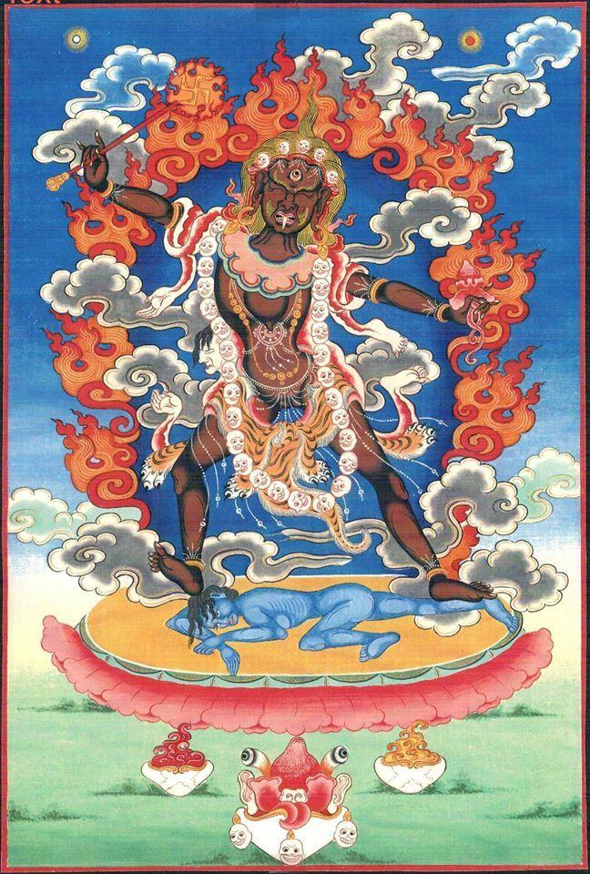 Ekajati | Thangka painting, Buddhist art, Thangka
