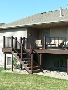 Image Result For Deck Ideas For Split Level Homes Deck Designs