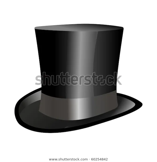 Top Hat Illustrations Clip Art Objects Stock Image Top Hat Vector Stock Vector
