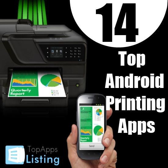 Top 14 Android Printing Apps technology
