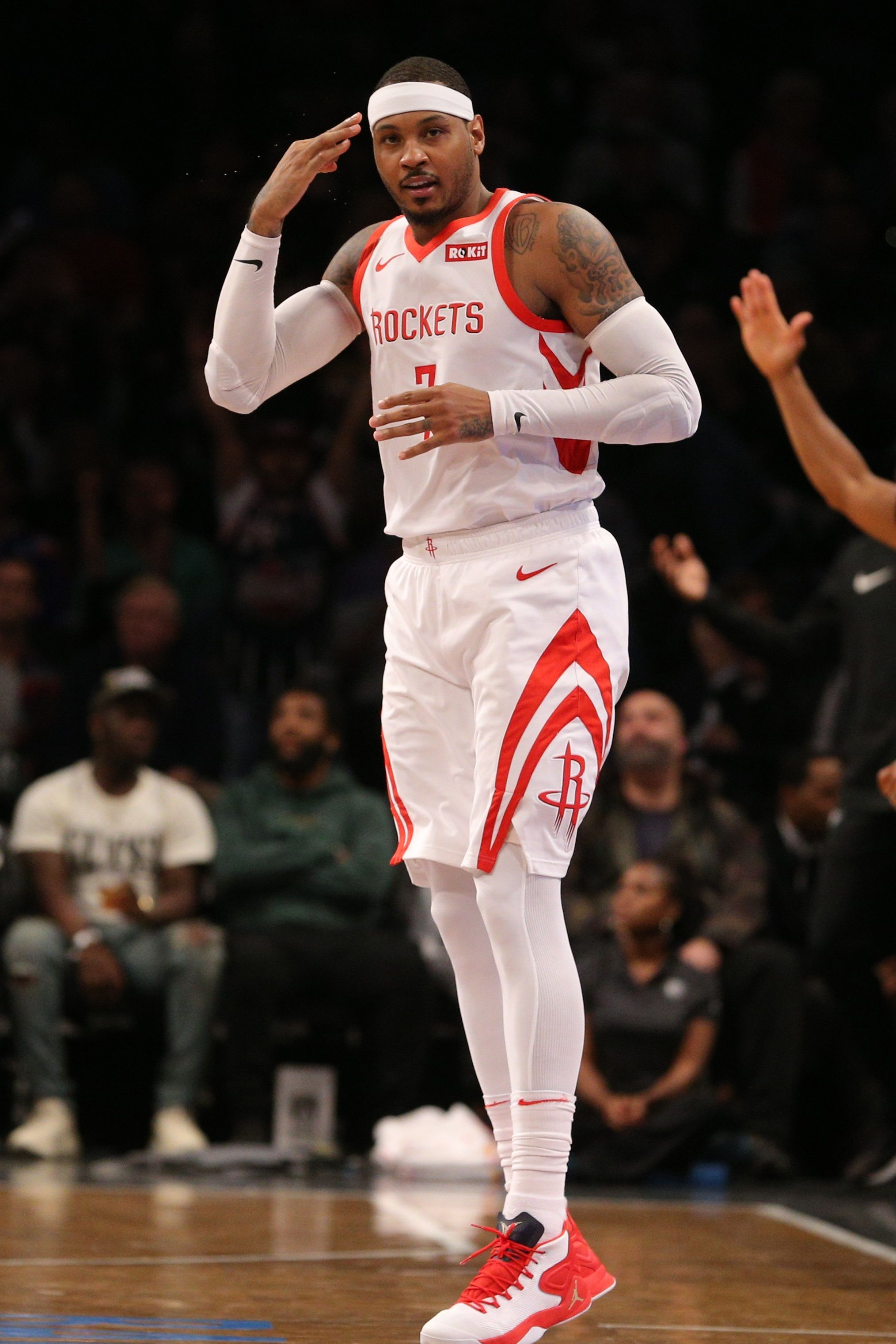 Carmelo Anthony Four Potential Landing Spots After Parting Ways With Rockets Carmelo Anthony Carmelo Anthony Wallpaper Basketball Players
