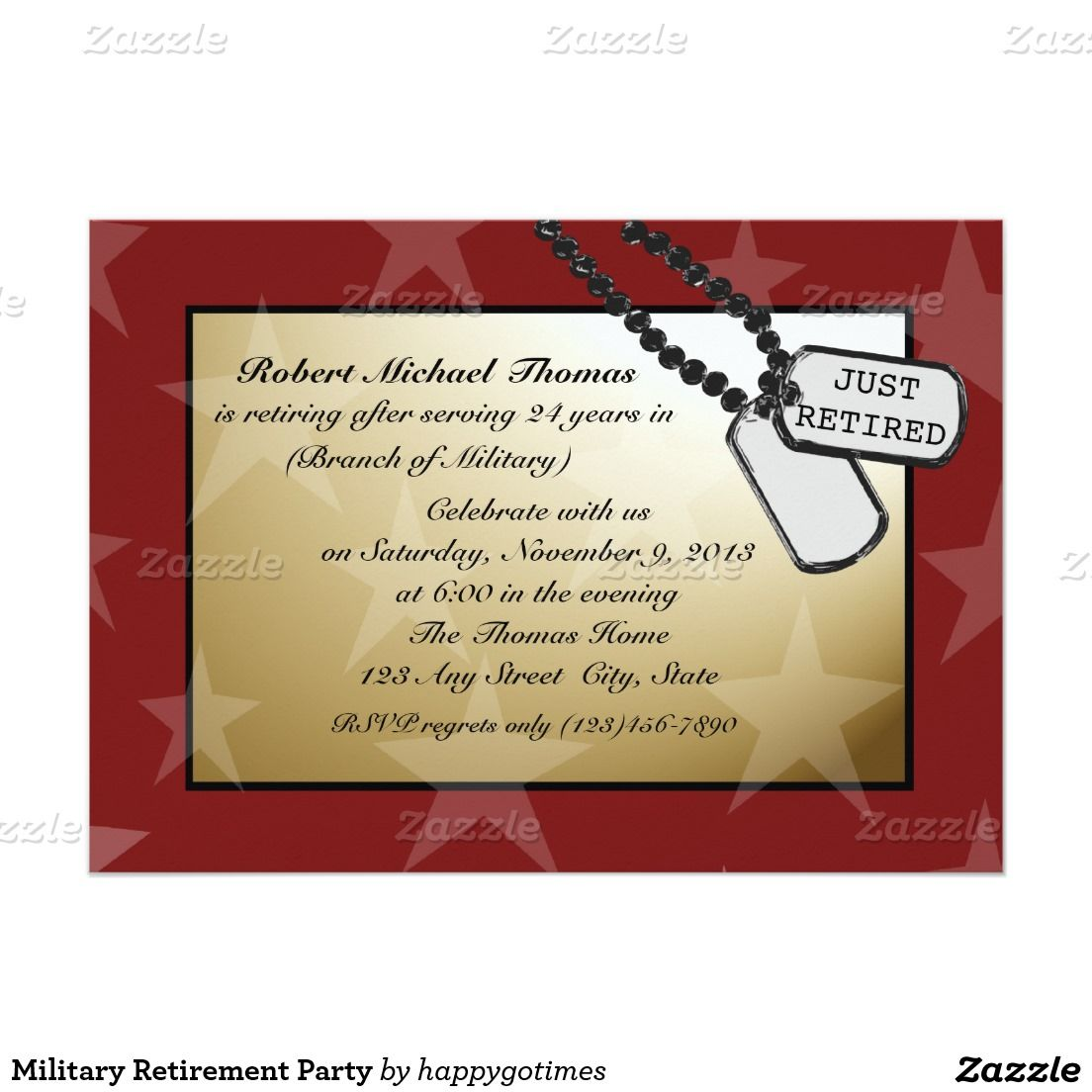 Military Retirement Party 5\