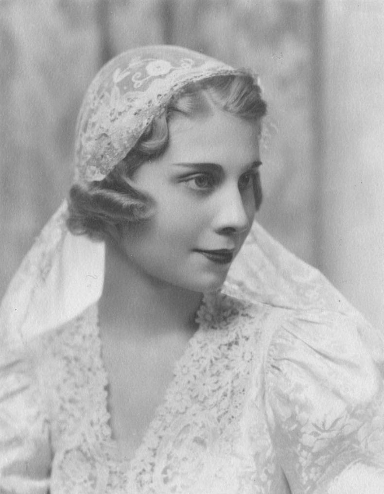 vintage veil (inspiration for Millinery)