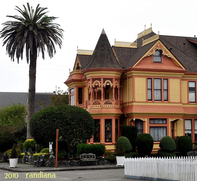 Gingerbread Painted Lady House Amazing Architecture Old Houses
