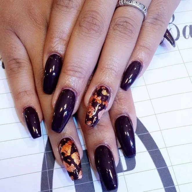 Coffin Halloween Nails that are Truly Spooktacular ...