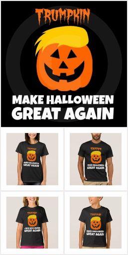 aaa26d2e9e1 Trumpkin Make Halloween Great Again Shirts
