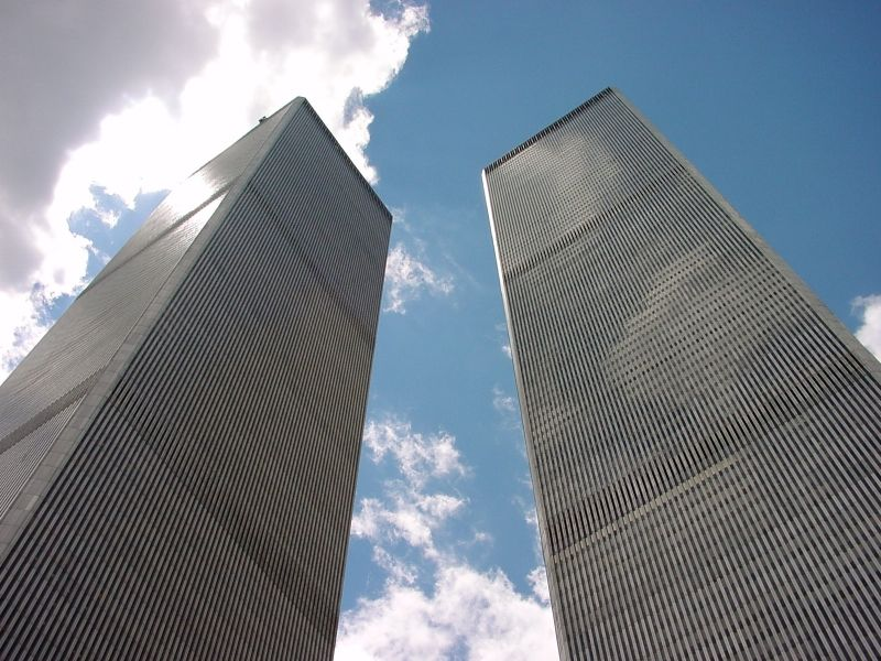 World Trade Center Facts:  1) It took 8 years to build the WTC buildings. 2) Each building had it's own zip code- 10047 and 10048  3) Each floor was 50,000 square feet  4) The towers were different heights- WTC 1 was 1,368 feet tall. WTC 2 was 1,362 feet tall.  5) There were 43,600 windows.  6)the buildings had 20,000 elevator doors.  7) There were 828 emergency doors.  8) American Express, Bank of AmericaCharles Schwab, were a few of the companies headquartered hear.  9) By 9 am each…
