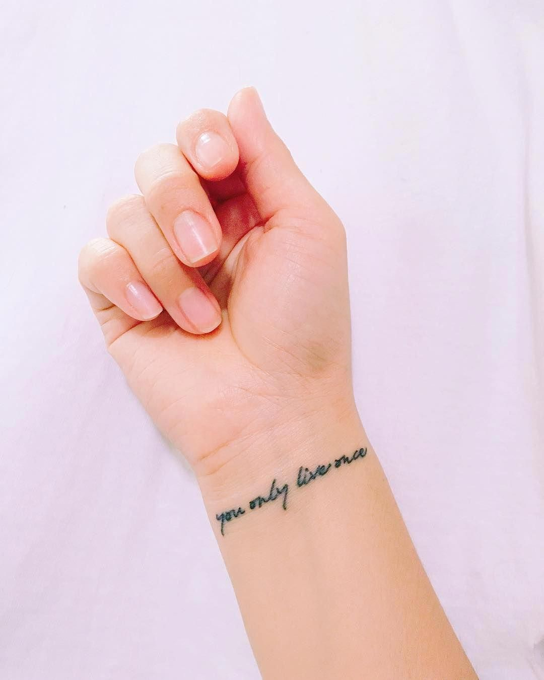 Inspiring Quote Tattoos Popsugar Smart Living