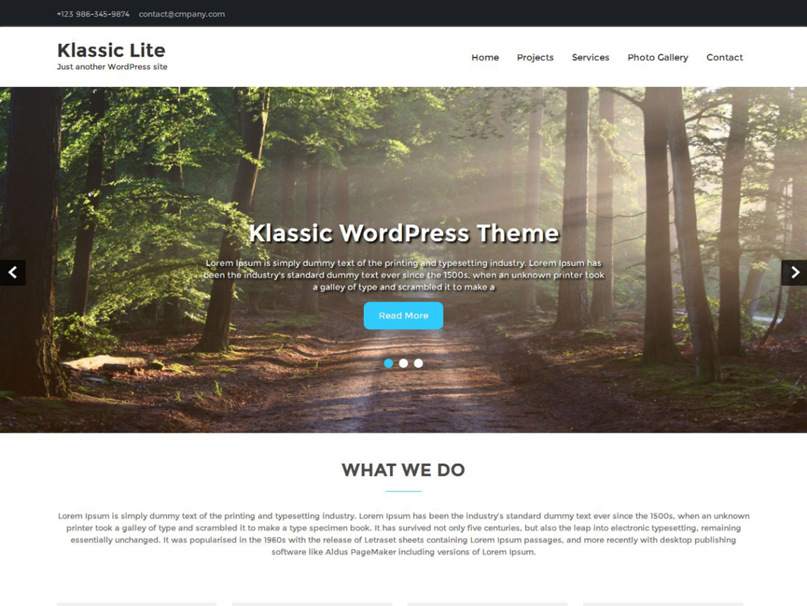 cool free responsive photography wordpress them wordpress themes