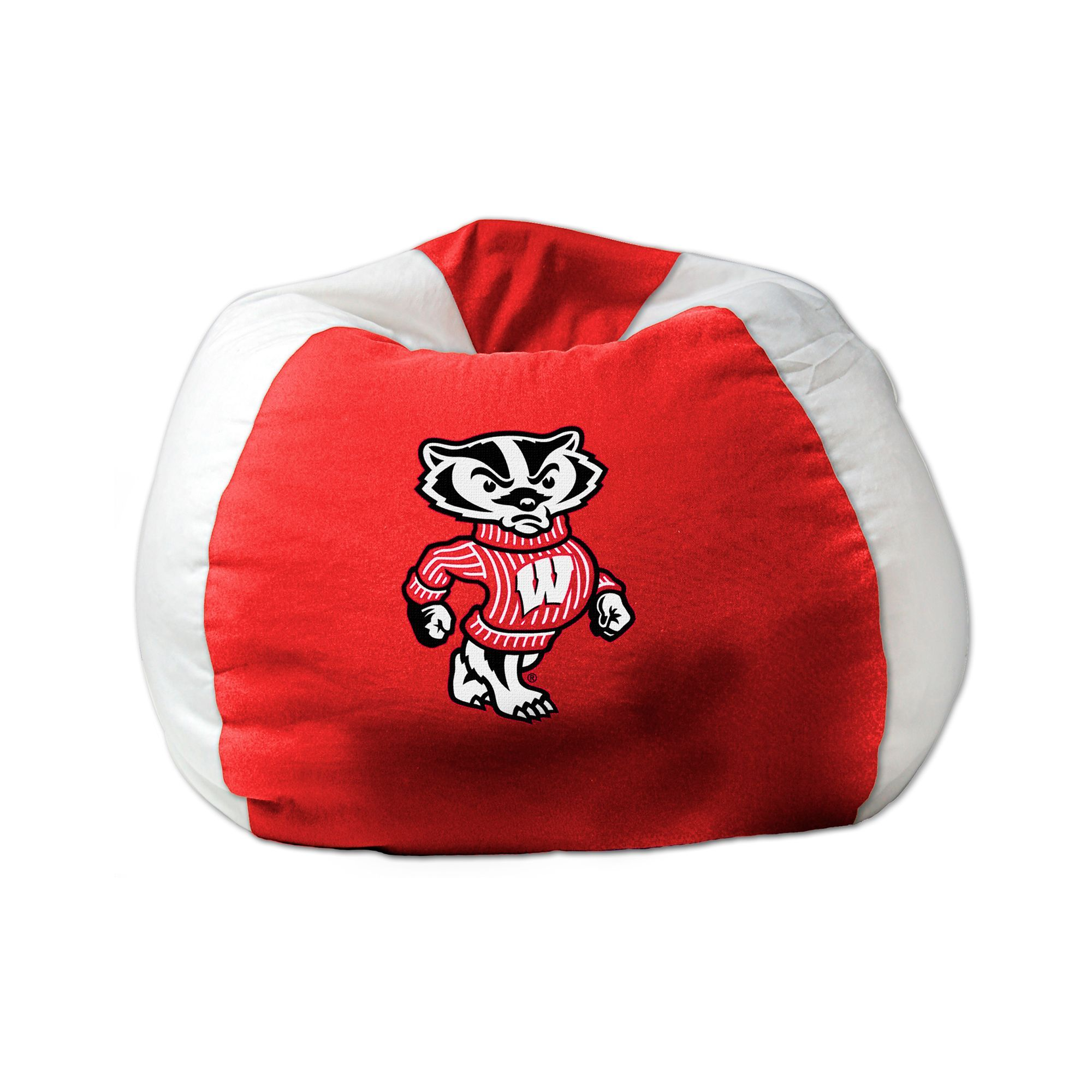 Men Cave University Of Wisconsin Bean Bag Chair