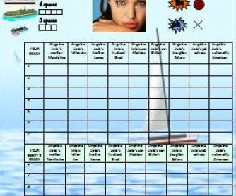 Possessive Adjectives Battleship Game  Work