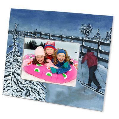 "Lexington Studios Fresh Snow Picture Frame Size: 4"" x 6"""