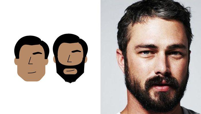 os tipos de barba para cada formato de rosto