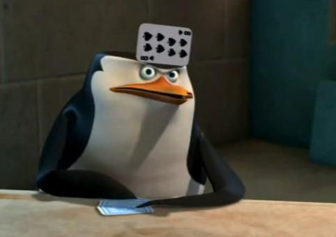 Penguins Of Madagascar Image Skipper Playing Cards XD