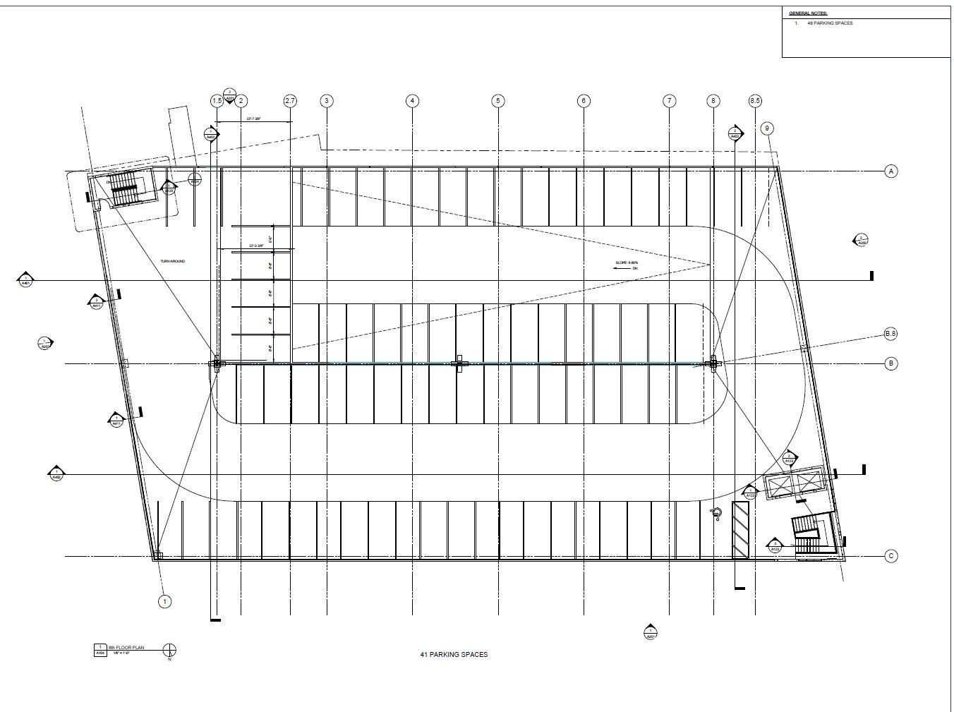 Plans for New Parking Garage at - 205.6KB