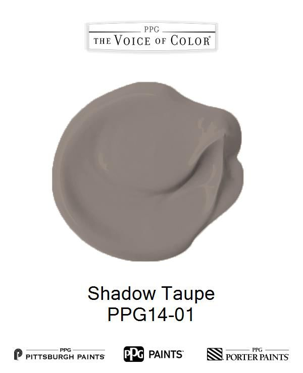 Shadow Taupe Ppg14 01 Ppg Paint Colors Porter Paint