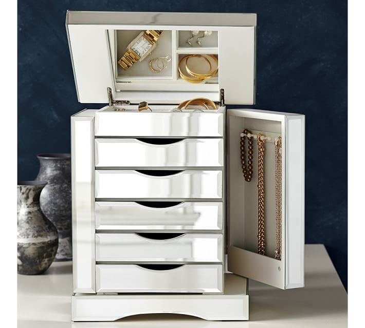 Beautiful mirrored jewelry box Gift Ideas For Her Pinterest