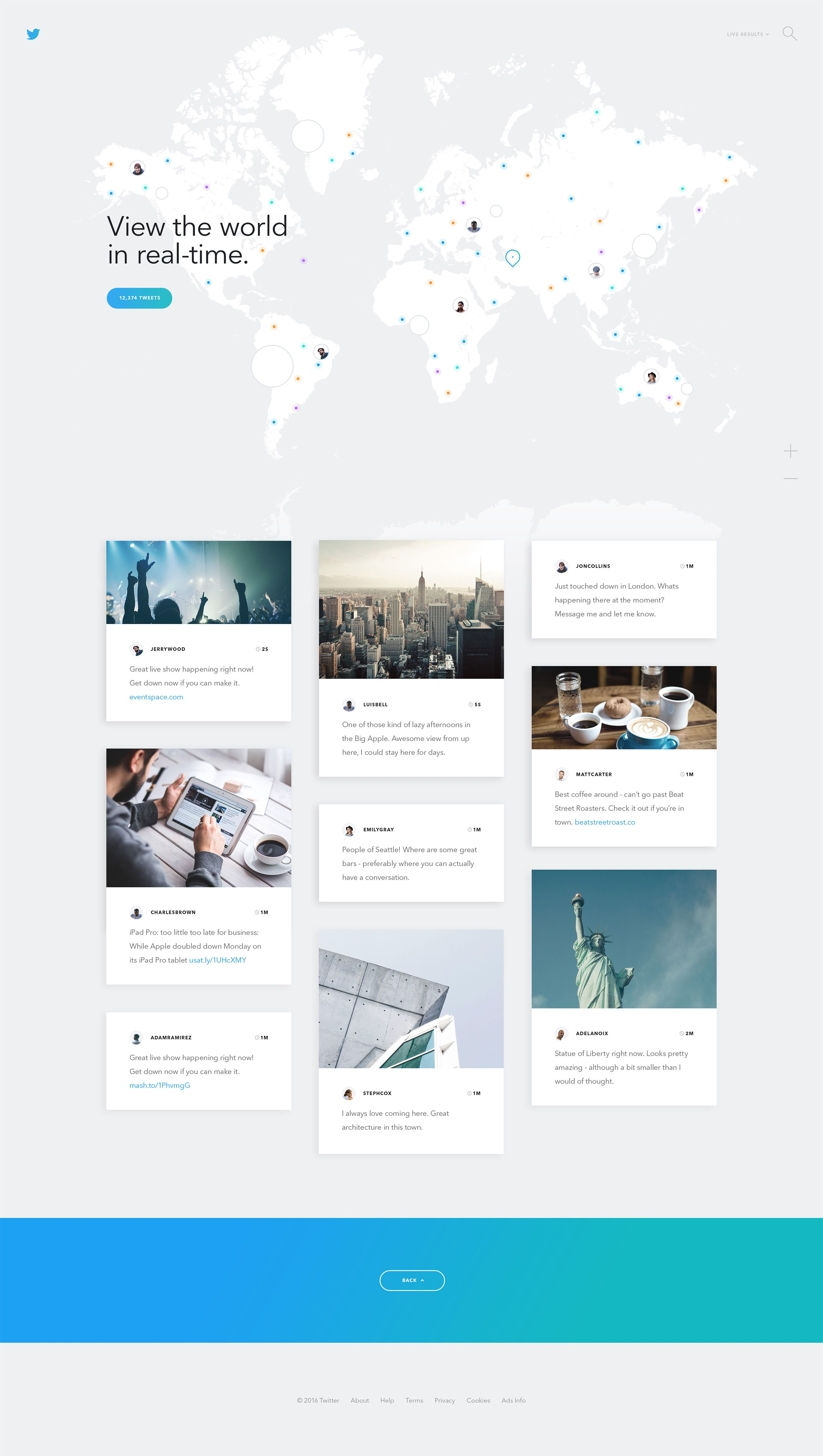 Twitter Live Twofold Graphic Web Design Web Design Websites Web Layout Design Web Design Quotes