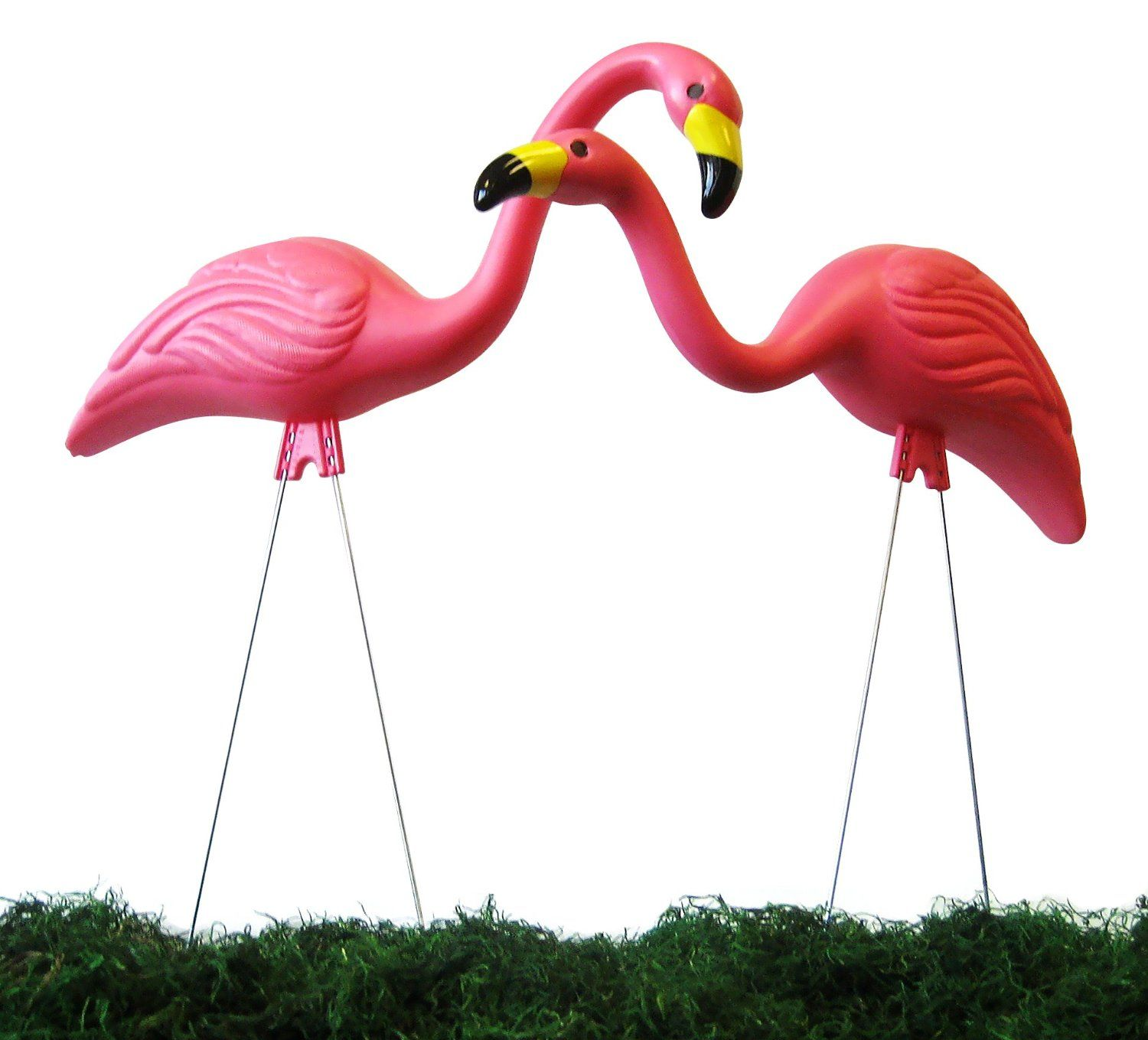 Amazoncom Garden Plast Pink Flamingos 2 Pack Discontinued by