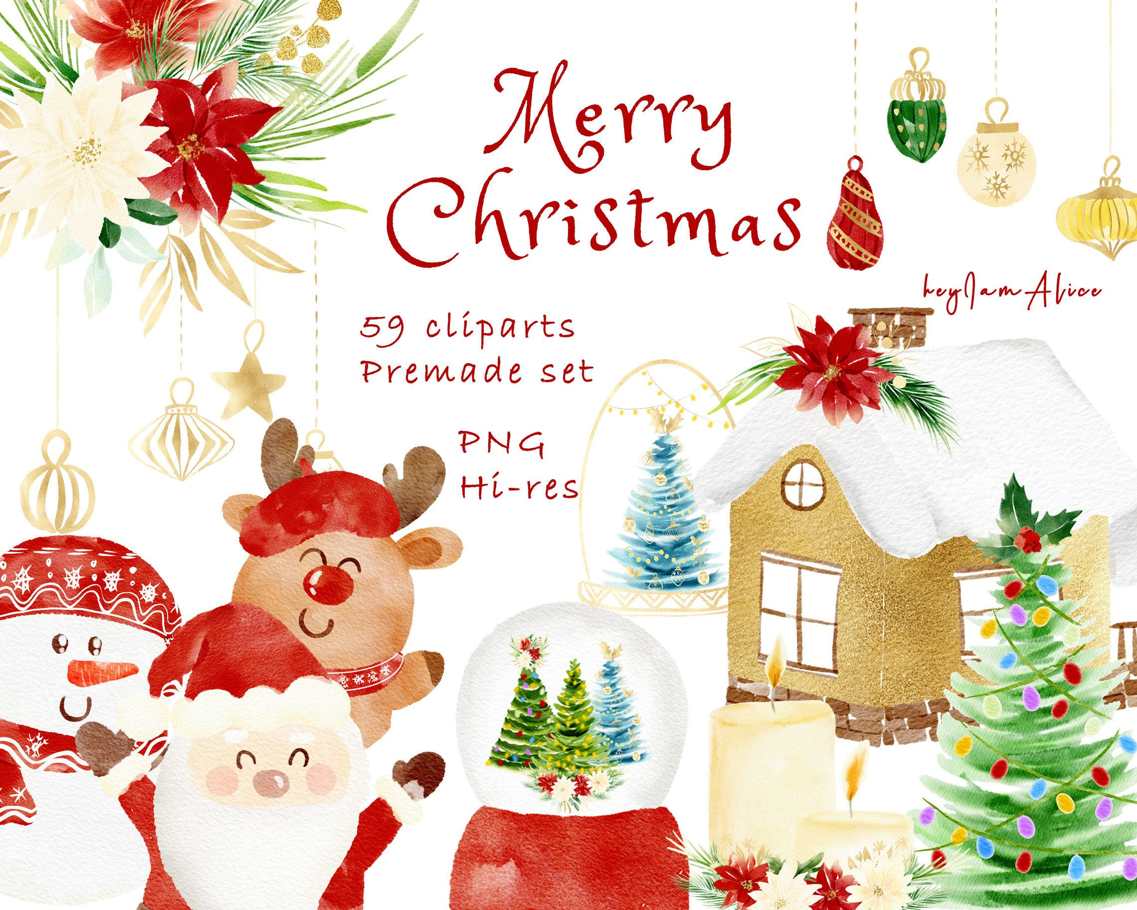 Christmas Clipart Free Commercial Use Watercolor Merry X Mas Clipart Santa Claus Clipart Holiday Png Festive Noel Png Christmas Tree In 2020 Christmas Clipart Christmas Clipart Free Merry