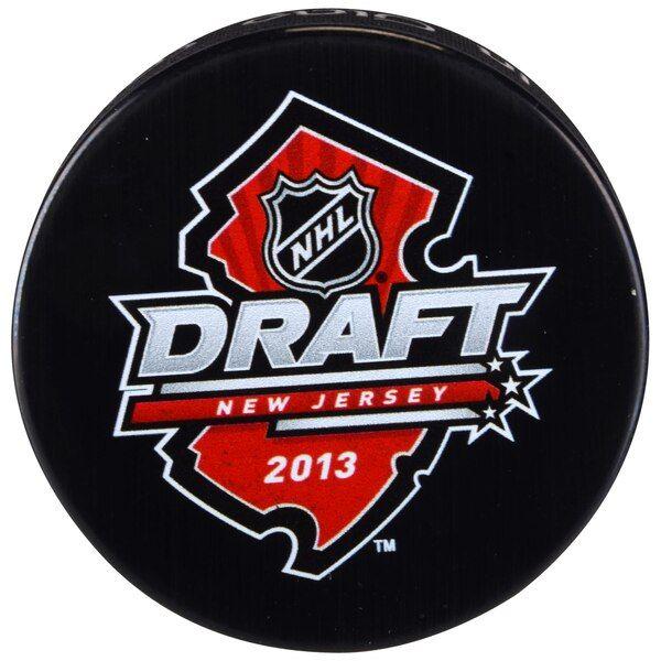 Fanatics Authentic 2013 NHL Draft Unsigned Draft Logo Hockey Puck