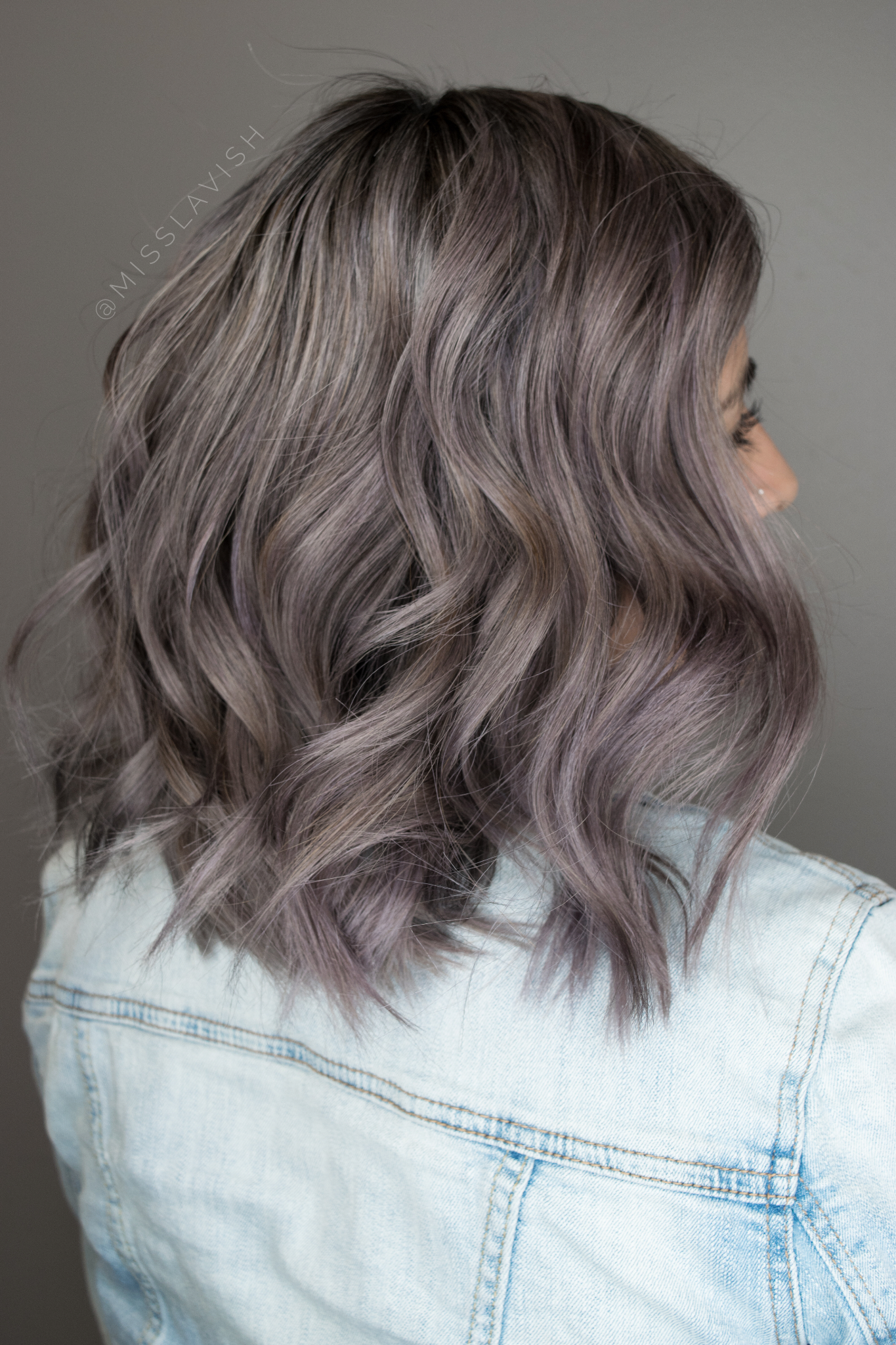 Smokey Hues Love gray tones   Hair styles, Smokey hair, Ashy hair