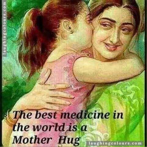 Momy's hug