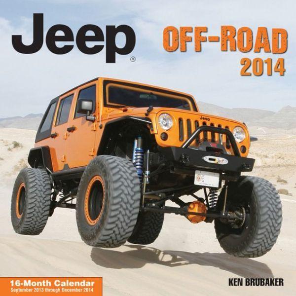 Jeep Off-Road Calendar 2013-2014 Wall Calendar