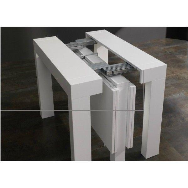Mesa consola extensible limite mesas mesa consola - Mesa salon extensible ...