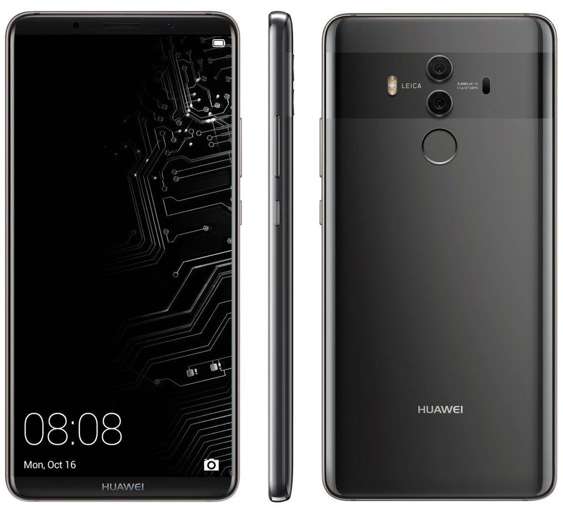 Huawei Mate 10 Pro 6 Fhd 1080x2160 128gb Kirin 970 S Izkustven Intelekt Dual Sim Siv 58786 Cena Plasico It Superstore Huawei Phone Huawei Phones