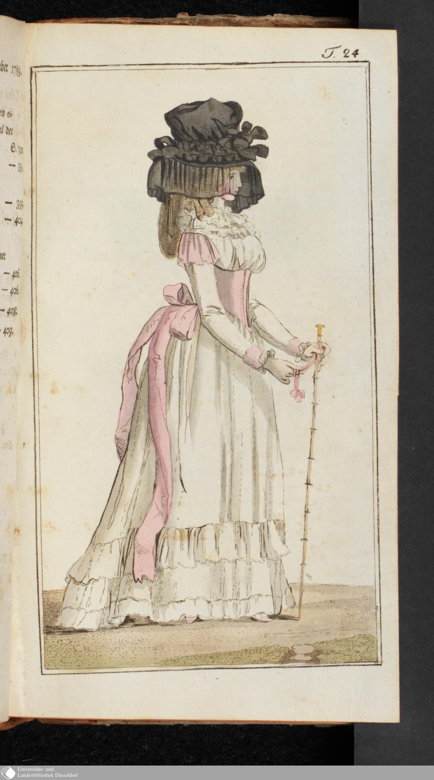 Journal des Luxus und der Moden: September, 1789.