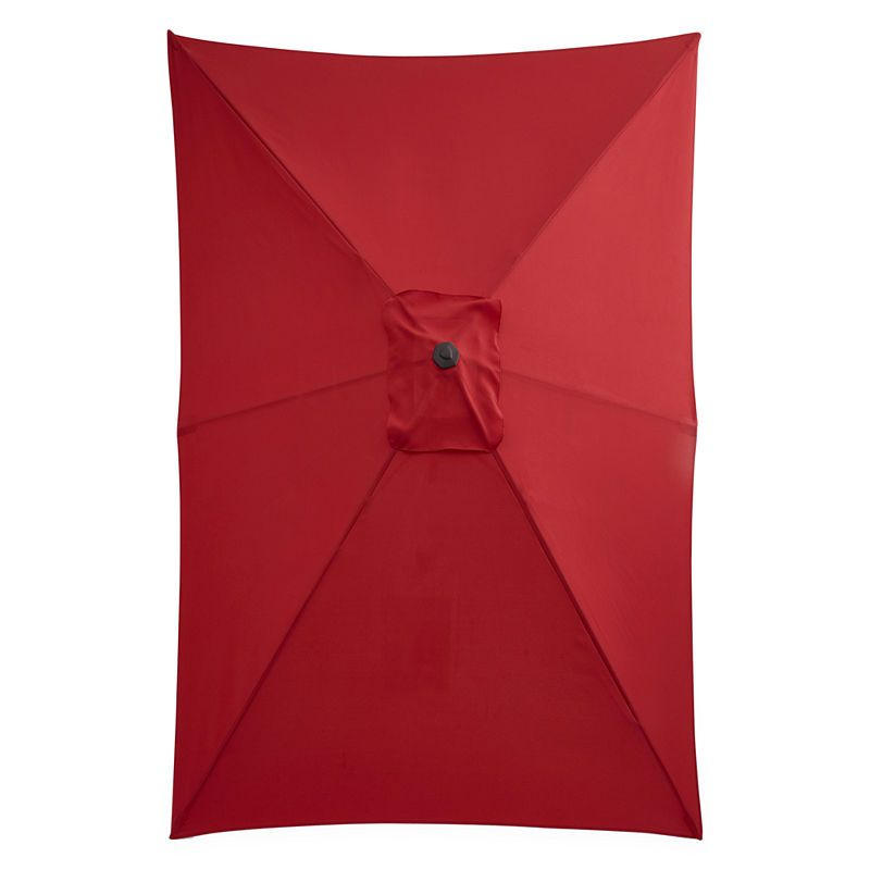 037d057d9 Outdoor Oasis 10-Ft X 6-Ft Rectagular Cranktilt Market Patio Umbrella