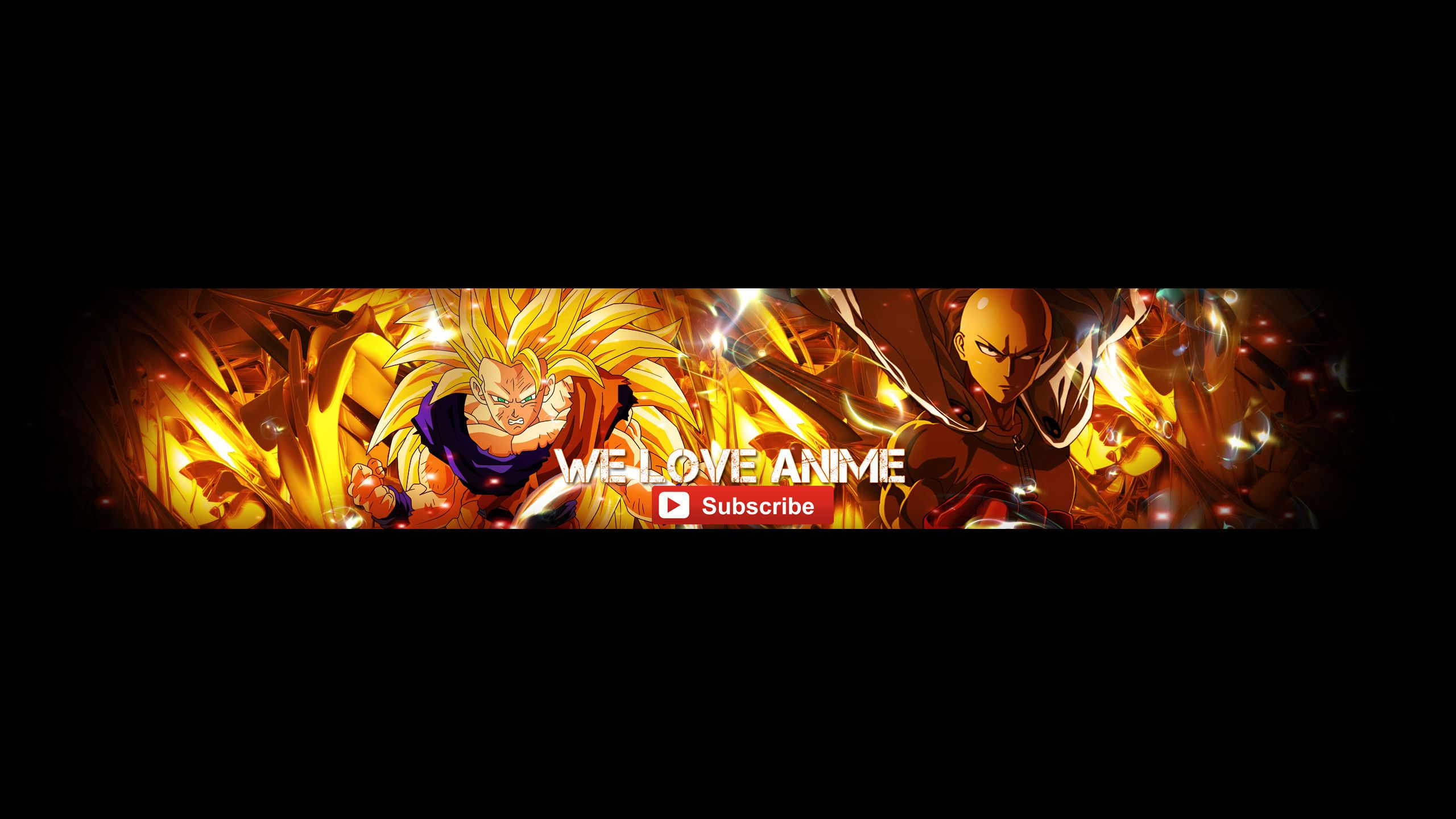 2560x1440 Anime Youtube Banner by ScarletSnowX Anime
