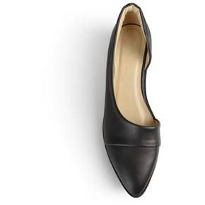 Women's Journee Collection Laken Almond Toe Flats : Target