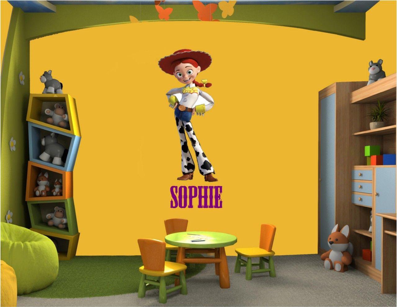 Toy Story JESSIE Vinyl Wall Art Sticker Decal   eBay   Toy Story ...