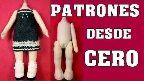 Patrón de muñeca desde cero