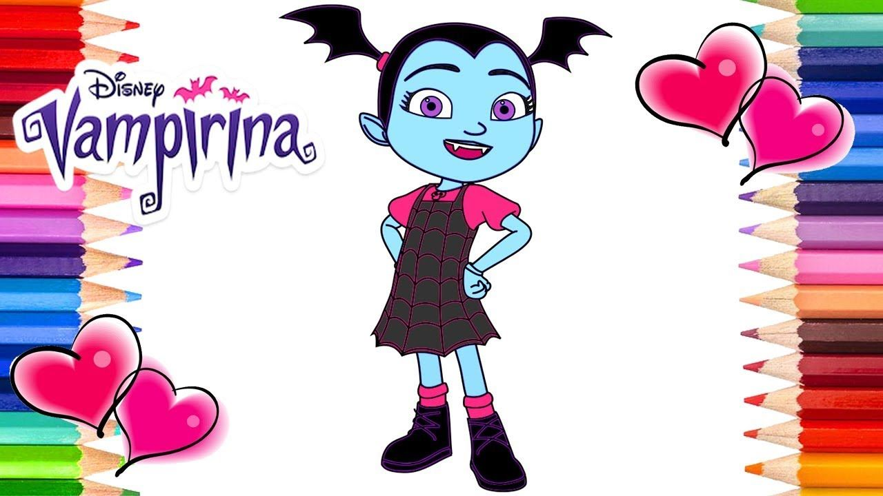 Vampirina Coloring Page Coloring Pages For Kids Rainbow Playhouse Co Coloring Books Coloring Pages Rainbow Kids