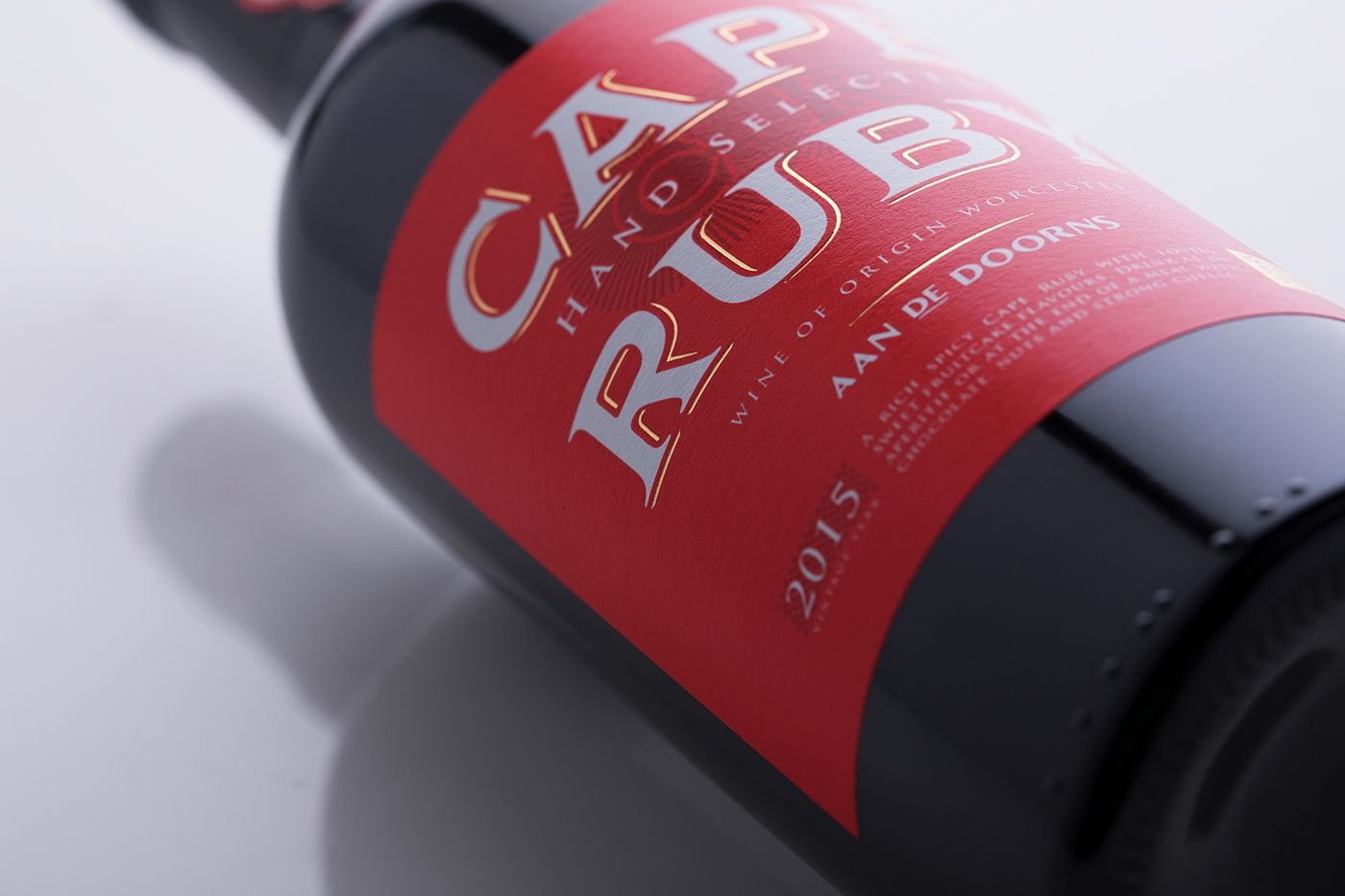 Check Out This Behance Project Cape Ruby Port Https Www Behance Net Gallery 60736831 Cape Ruby Port Wine Brands Label Design Packaging Design
