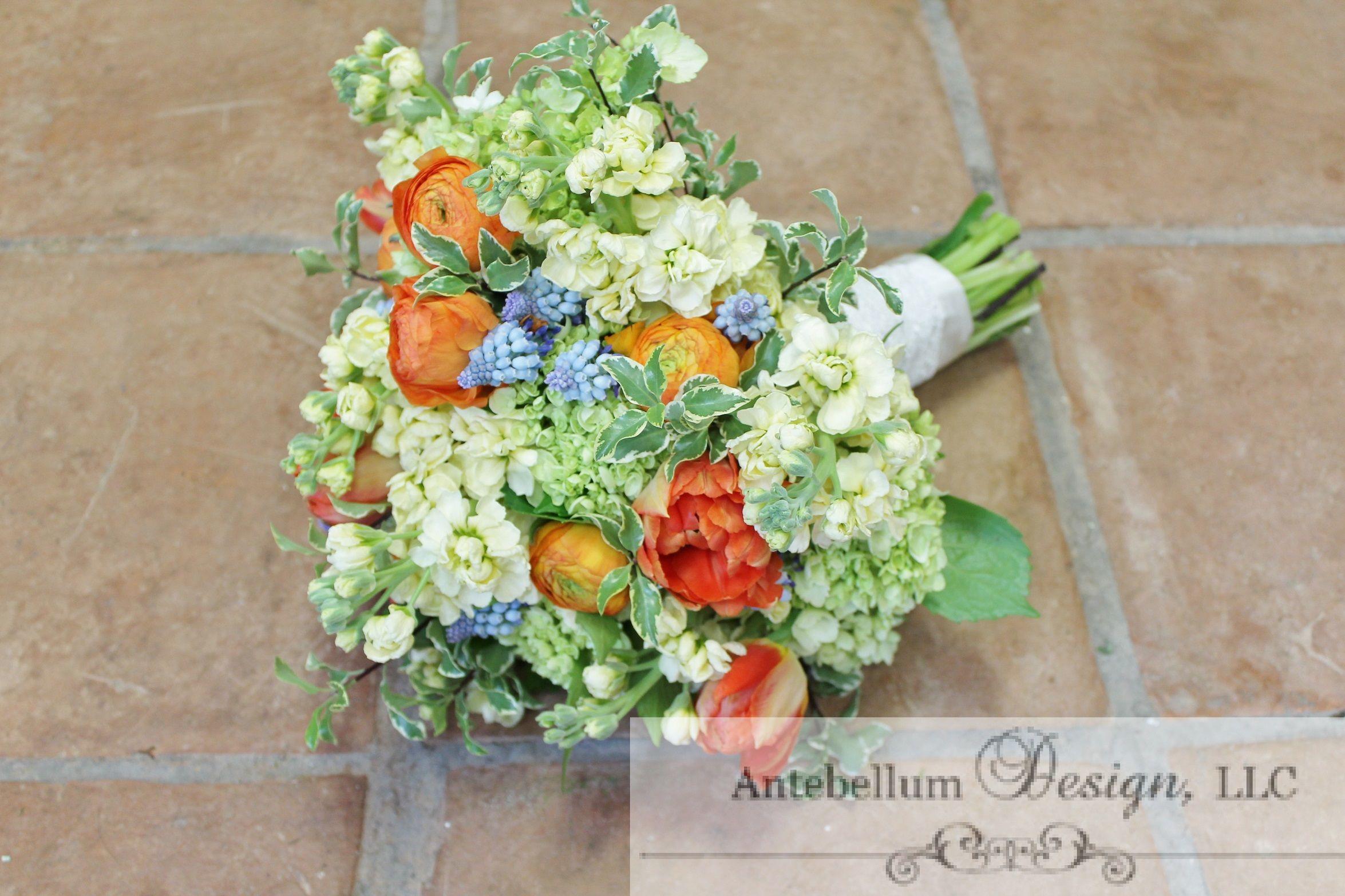 Loose round spring bouquet dallas wedding flowers wedding