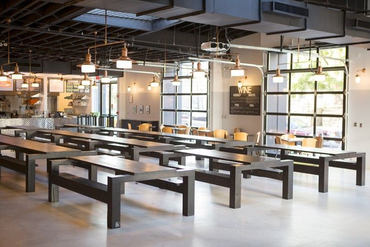 A Modern Beer Hall In Brooklyn By A World Famous Architect Glasses Cafe Restaurant And Search