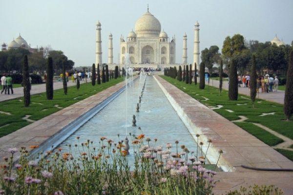 neue sieben Weltwunder Taj Mahal Indien Bilder