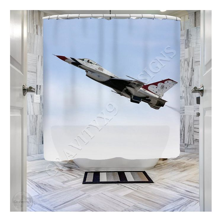 Thunderbird In Flight Shower Curtain For Sale By Gravityx9 Designs