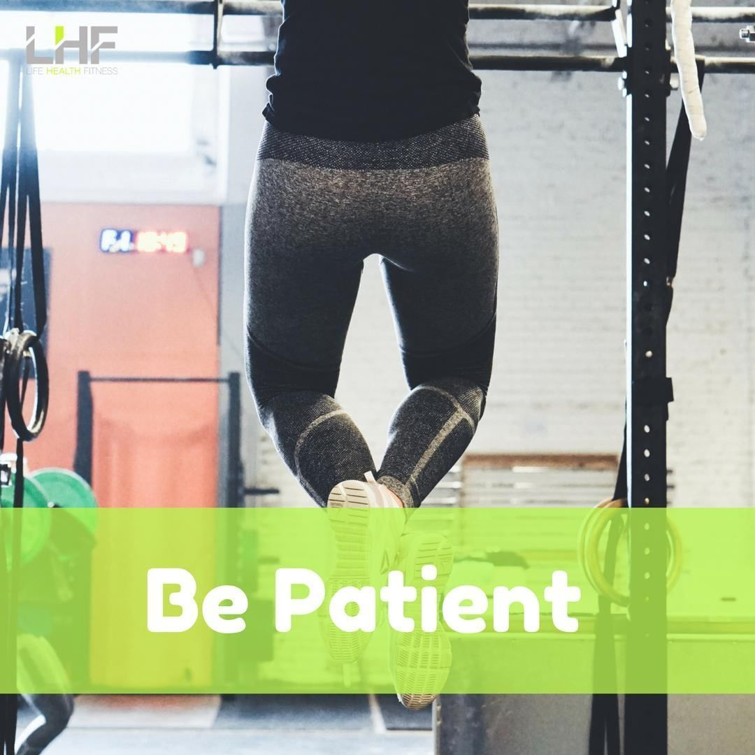 Be Patient -  there will be ups and downs, setbacks and victories, advises Navra...  #dontstop #Exer...