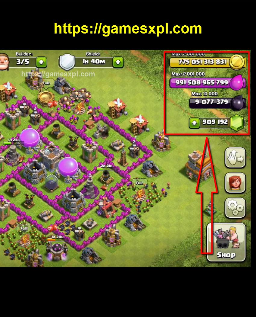 Clash Of Clans Hack Get Unlimited Gems Gold Elixir And Dark Elixir Ios Android Clash Of Clans Hack Clash Of Clans Clash Of Clans Cheat