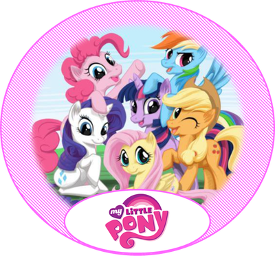 free my little pony party ideas creative printables ponys