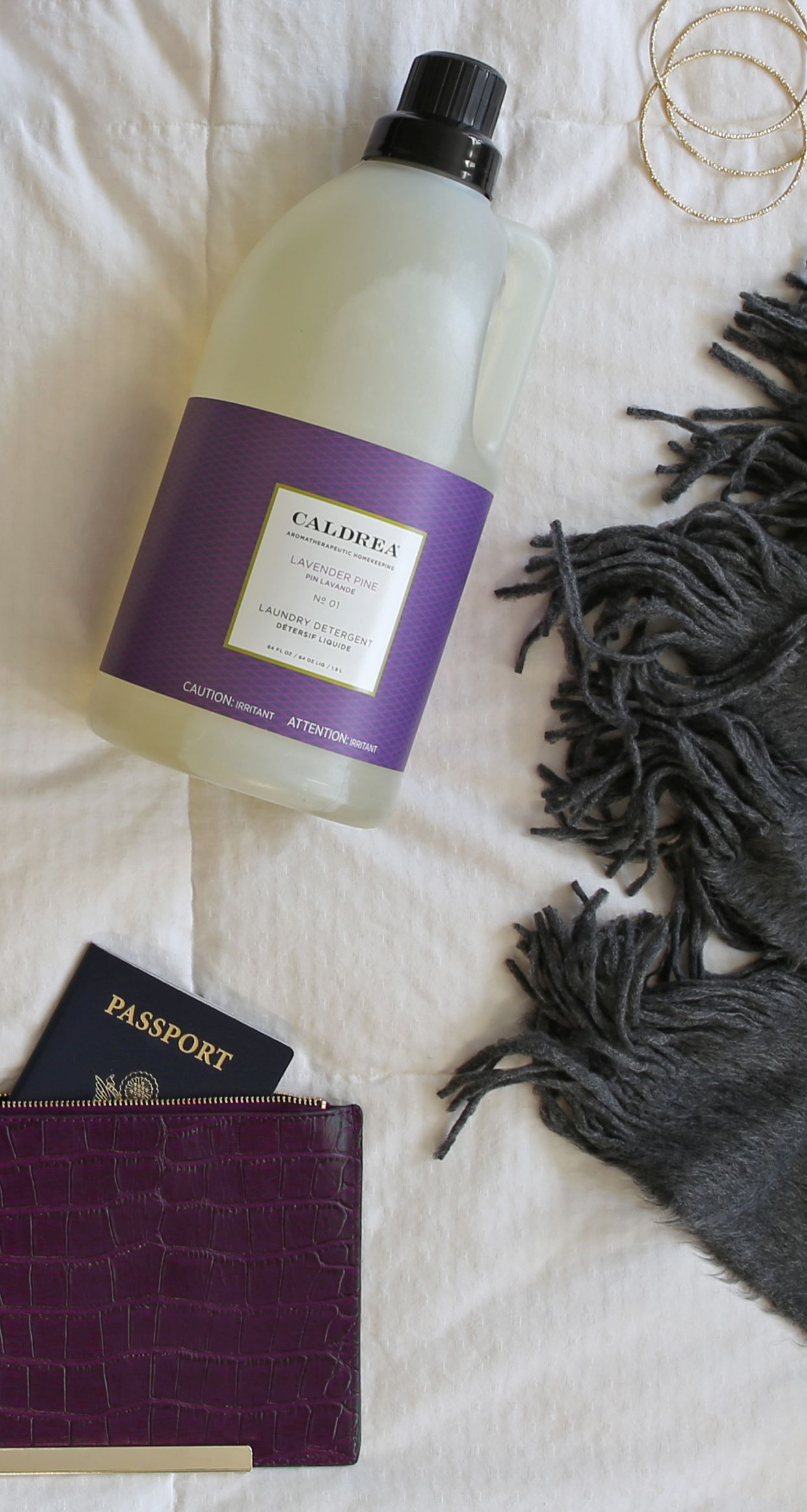 Bring A Sense Of Tranquility To Your Wardrobe With The Serene Scent Of Our Lavender Pine Laundry Detergent