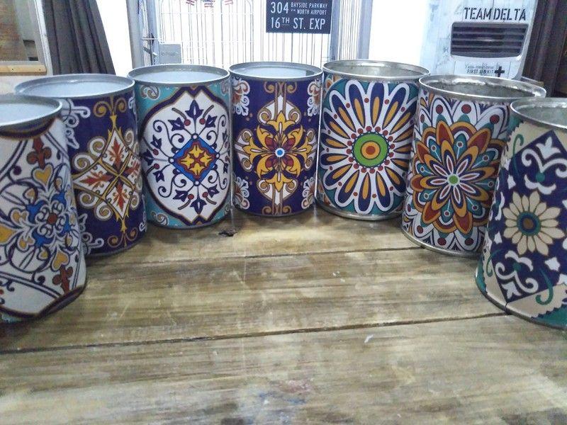 1分で完成!モロッコ風「空き缶リメイク」|LIMIA (リミア)
