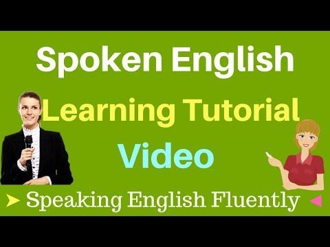 Spoken English Learning Tutorial Video With Subtitle Speaking English Fluently Basic Conversation Youtube Mappe Mentali Grammatica Inglese Inglese