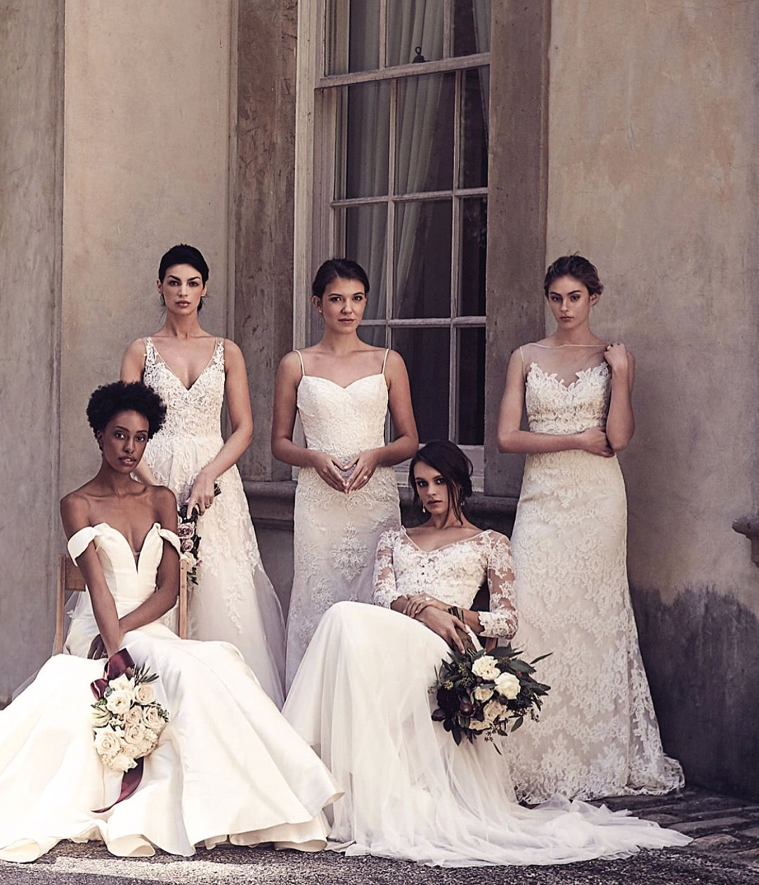 Ten Wedding Dresses By Anne Barge For The Foldout Cover Page Celebrating The 10th Anniversary Of Modern Luxury Wed Wedding Dresses Bridal Style Atlanta Wedding