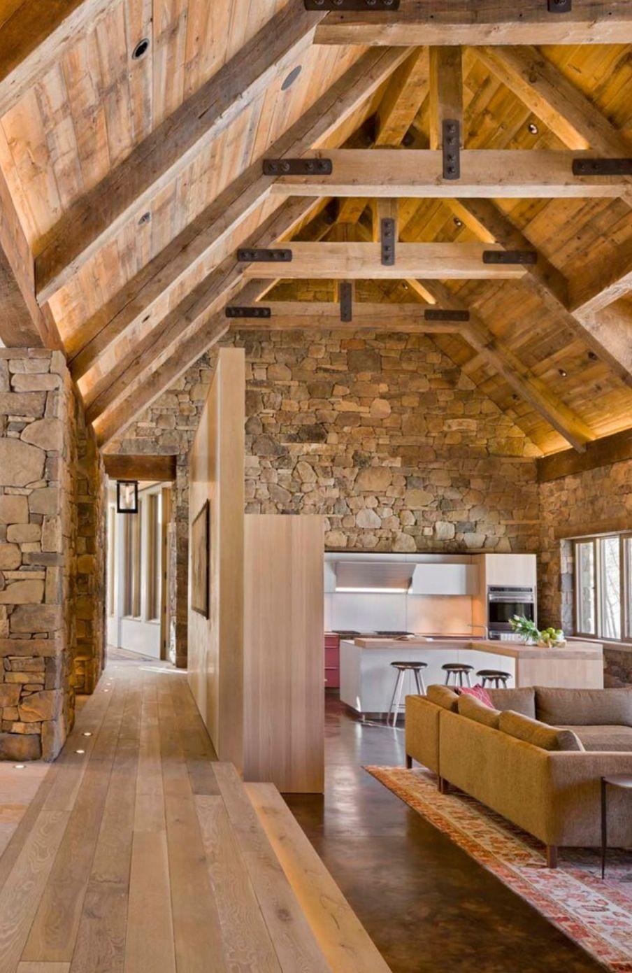 Una serie di scale interne moderne che arredano la casa diventano parte centrale dell'arredamento. Love All Of This Case In Pietra Casa Di Pietra Architetti